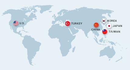 wordvice service world map